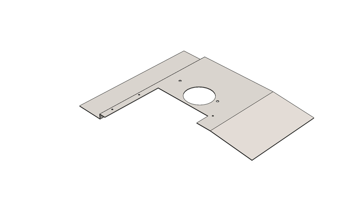 C15049 - CARRIAGE COVER PLATE - King CF100 Spare Part