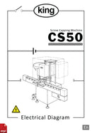 King CS50 Screw Capping Machine Electrical Diagram and Circuit Description