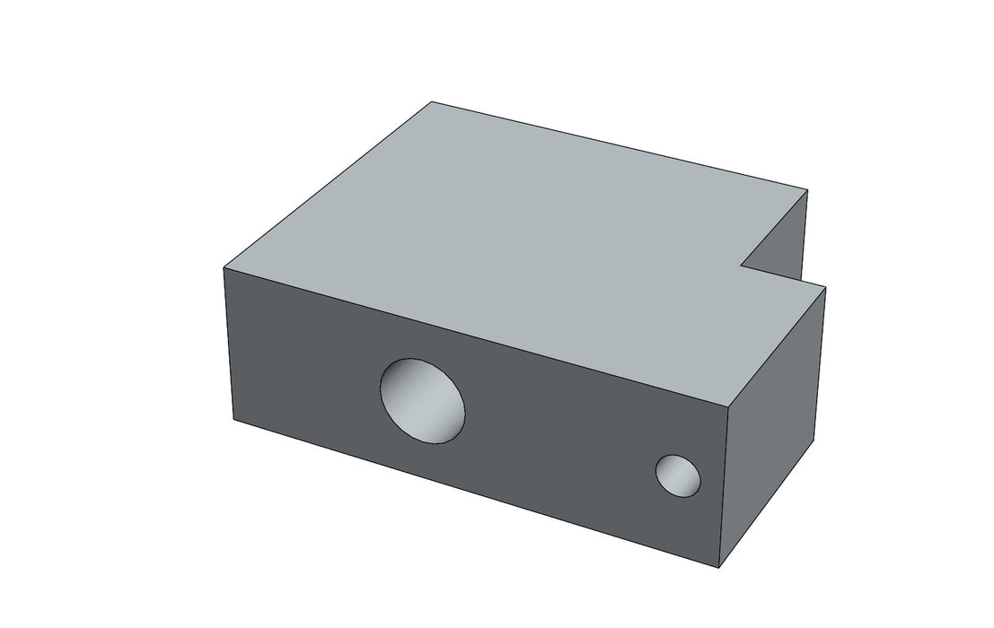 C 01086A - WOOL PUSH BRACKET | Spare Parts for King, Kalish and Swiftpack Packaging Machines