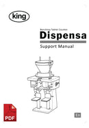 King Dispensa Benchtop Tablet and Capsule Counter User Instructions and Servicing Manual