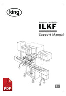King ILKF Automatic Liquid Filler User Instructions and Servicing Manual