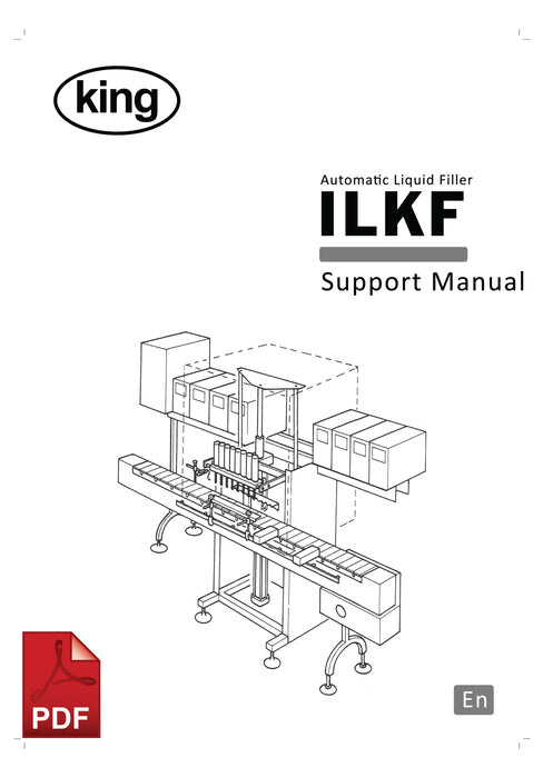 ILKF Automatic Liquid Filler Service and Spare Parts Manual | Spare Parts for King, Kalish and Swiftpack Packaging Machines