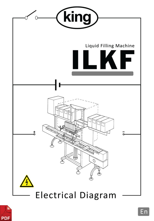 King ILKF Liquid Filling Machine Electrical Diagram and Circuit Description