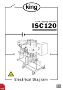 King ISC120 Screw Capper Electrical Diagram and Circuit Description