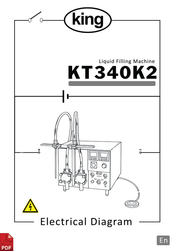 King KT340K2 Electronic Diagram and Circuit Description
