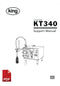 King KT340 Liquid Filling Machine User Instructions and Servicing Manual