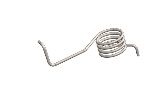 LAH19409 - SPRING RIGHT HAND For use with King Labelling Machines