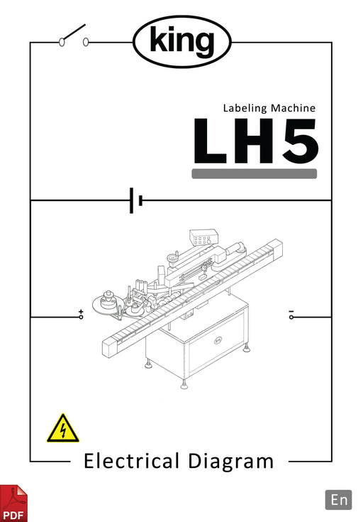 King LH5 Electronic Diagram and Circuit Description