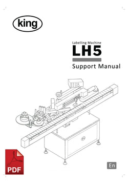 LH5 Labeling Machine Service and Spare Parts Manual | Spare Parts for King, Kalish and Swiftpack Packaging Machines
