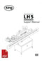 King LH5 Labelling Machine User Instructions and Servicing Manual