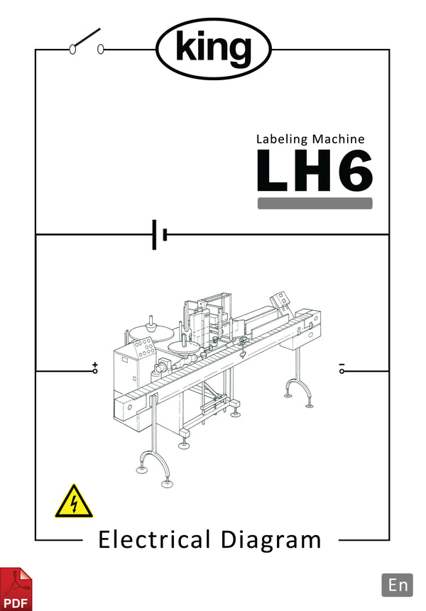 King LH6  Electronic Diagram and Circuit Description