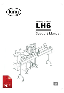 LH6 Labeling Machine Service and Spare Parts Manual | Spare Parts for King, Kalish and Swiftpack Packaging Machines