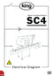 King SC4 Tablet Counter Electrical Diagram and Circuit Description