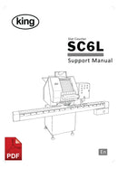 King SC6L Slat Counter User Instructions and Servicing Manual