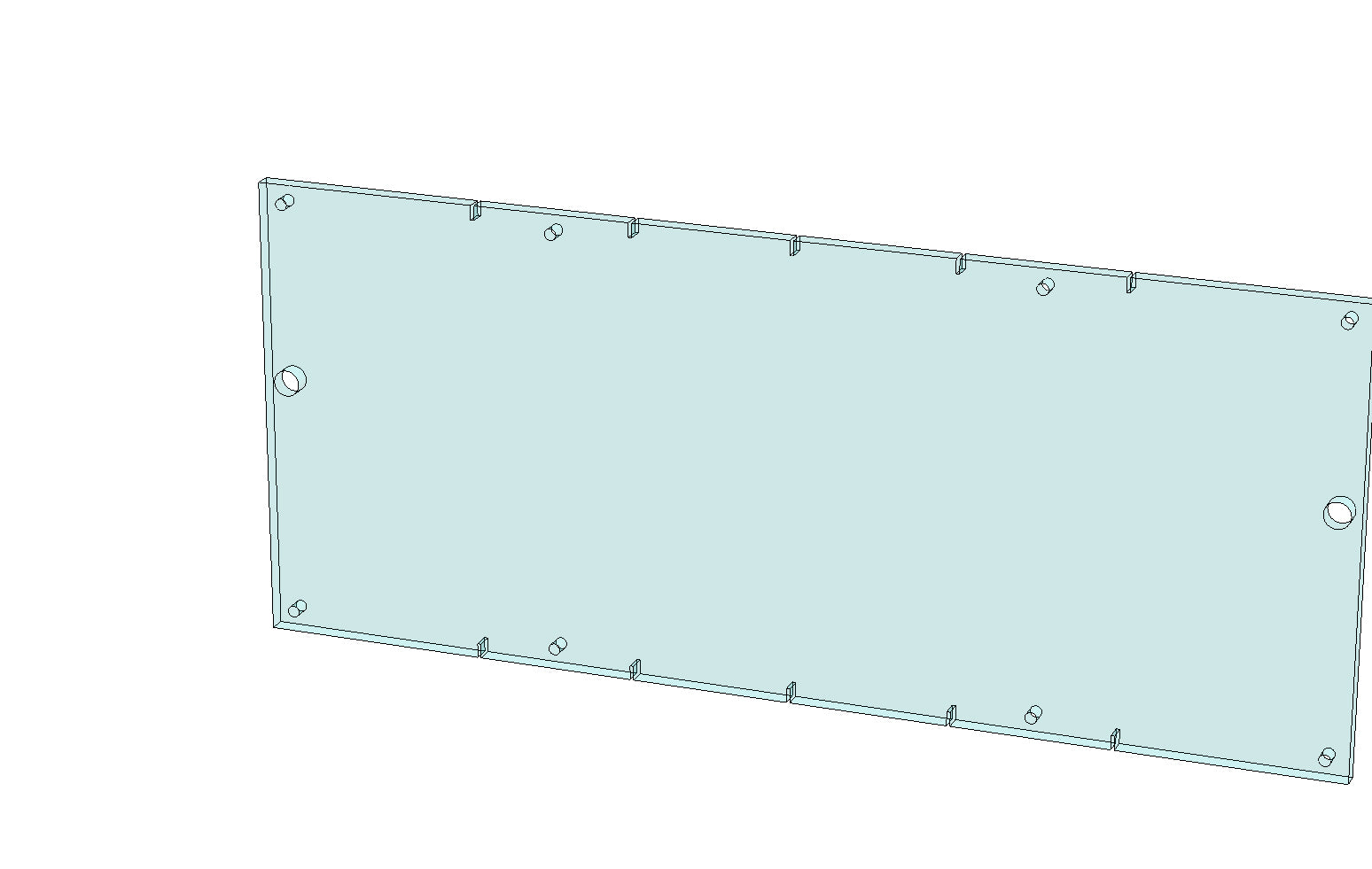 SCM 10952 - CHUTE FRONT WINDOW | Spare Parts for King, Kalish and Swiftpack Packaging Machines