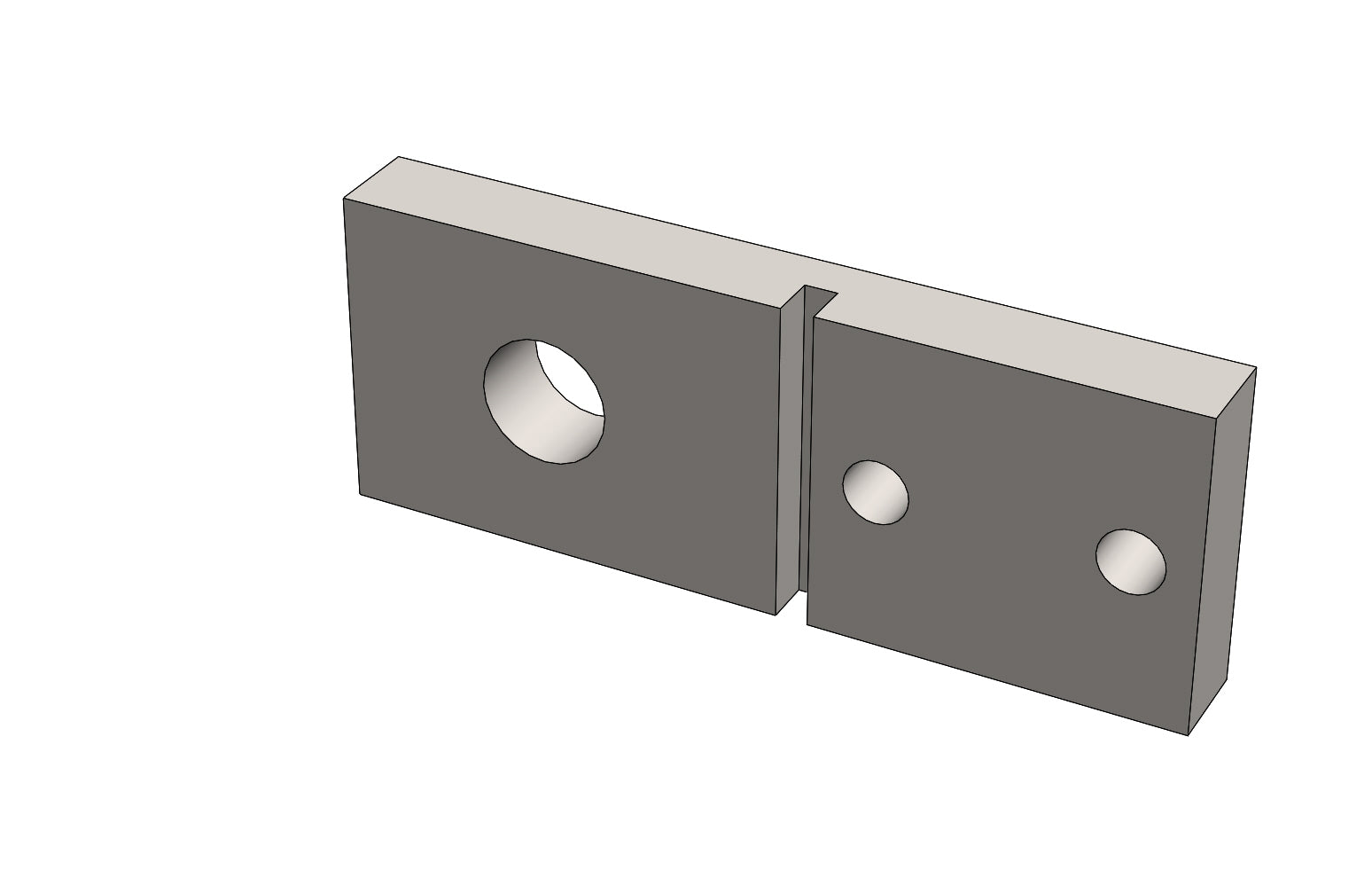 SCM12939 - CLAMP BRACKET LOWER for a Slat Filler