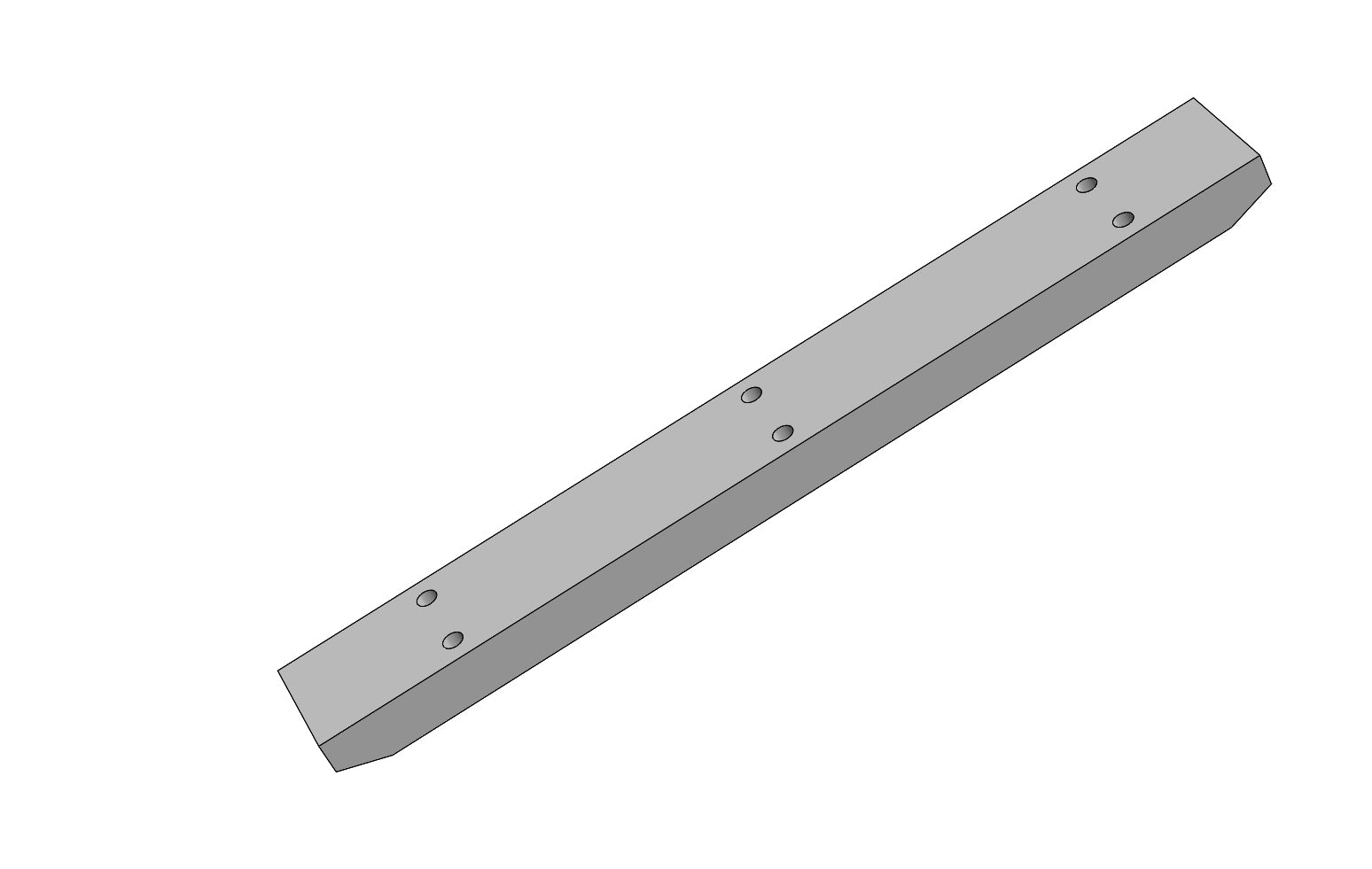 SCM15644 - VIBRATOR BAR - Slat Filler Spare Part