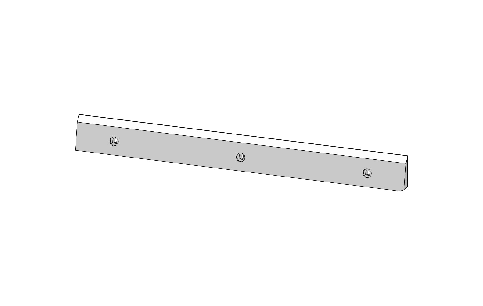 SCM26929B - TABLET GUIDE - Slat Filler Spare Part