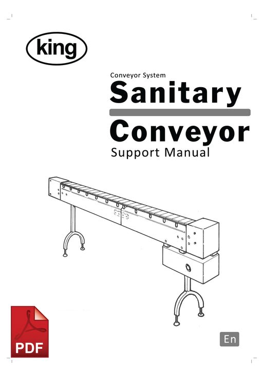 Sanitary Conveyor Service and Spare Parts Manual | Spare Parts for King, Kalish and Swiftpack Packaging Machines