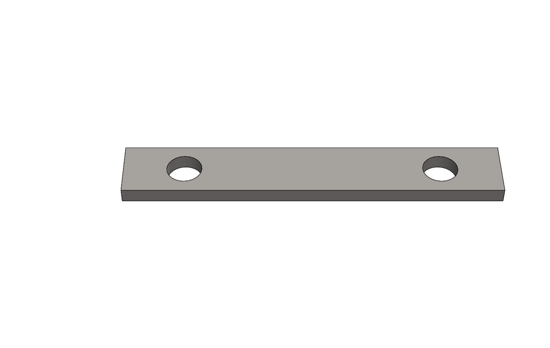 TB00101A - SPRING PLATE - King TB4 Spare Part