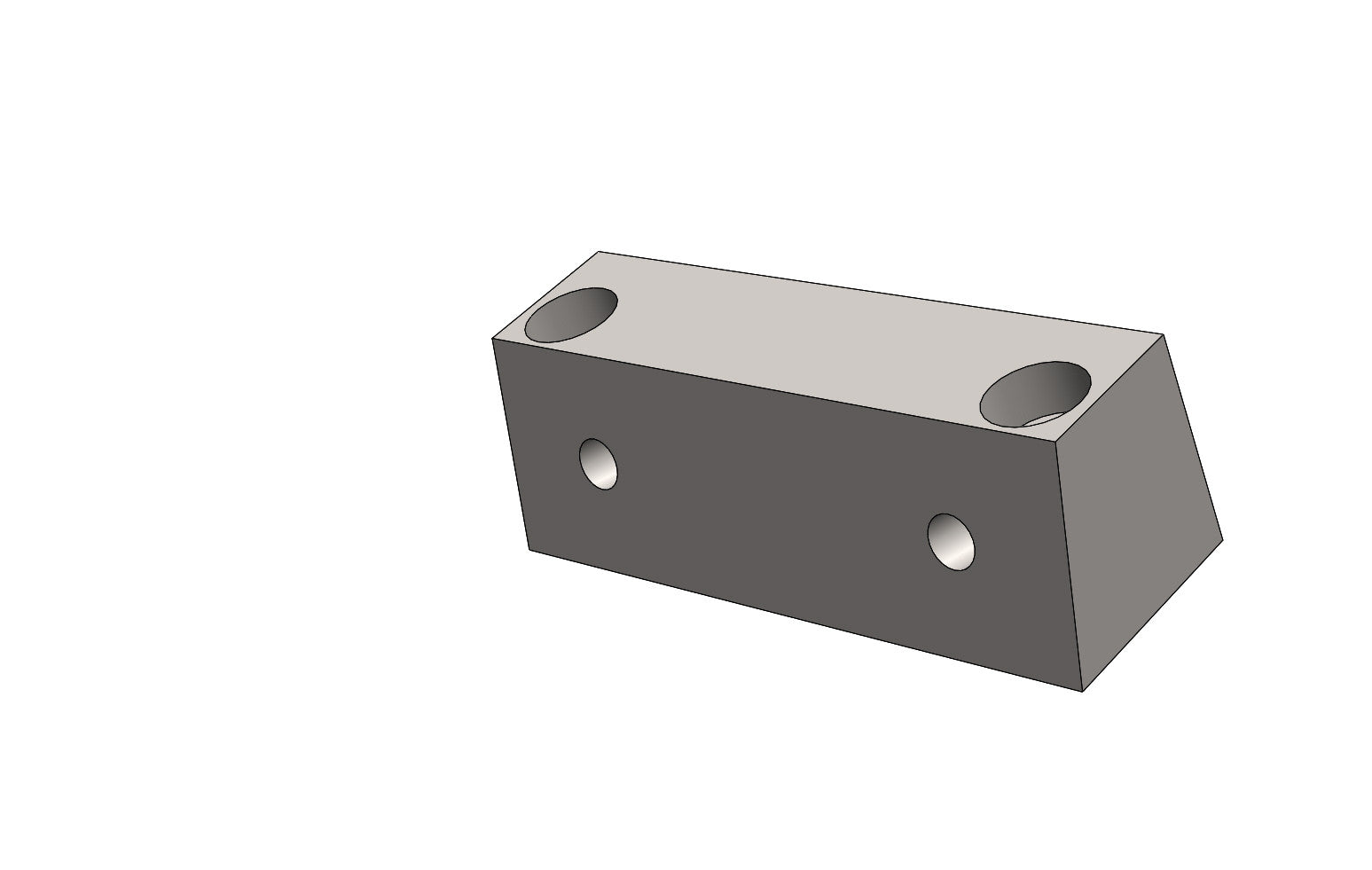 TB13056A MOUNTING BLOCK UPPER - King TB4 Spare Part