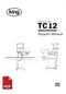 King TC12 Channel Counter User Instructions and Servicing Manual