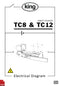 King TC8 and TC12 60HZ Tablet Counter Electrical Diagram and Circuit Description