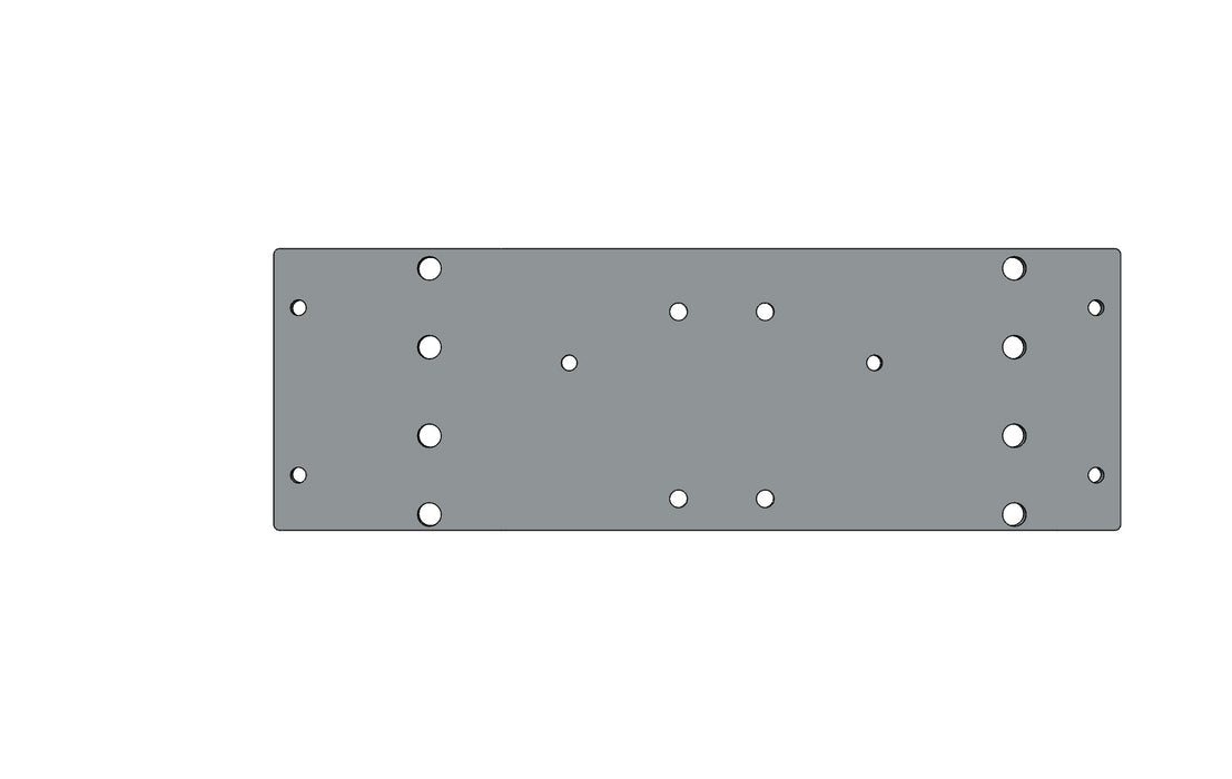 TC6271477A MOUNTING PLATE - King TC8 Spare Part