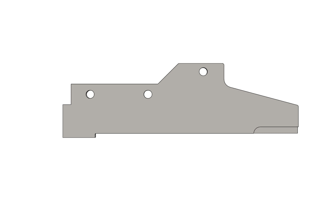 TC6271483A LH PLATE (- King TC8 Spare Part