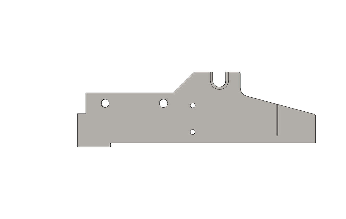 TC6271484A RH PLATE - King TC8 Spare Part