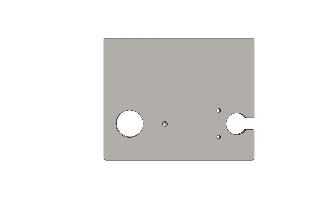 TC6271560A SHUTTER SIDE PLATE RH - King TC8 Spare Part