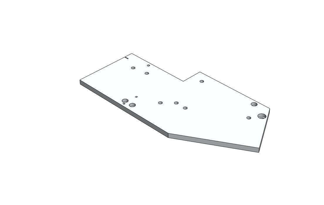 TC6271574A LH PLATE - King TC8 Spare Part