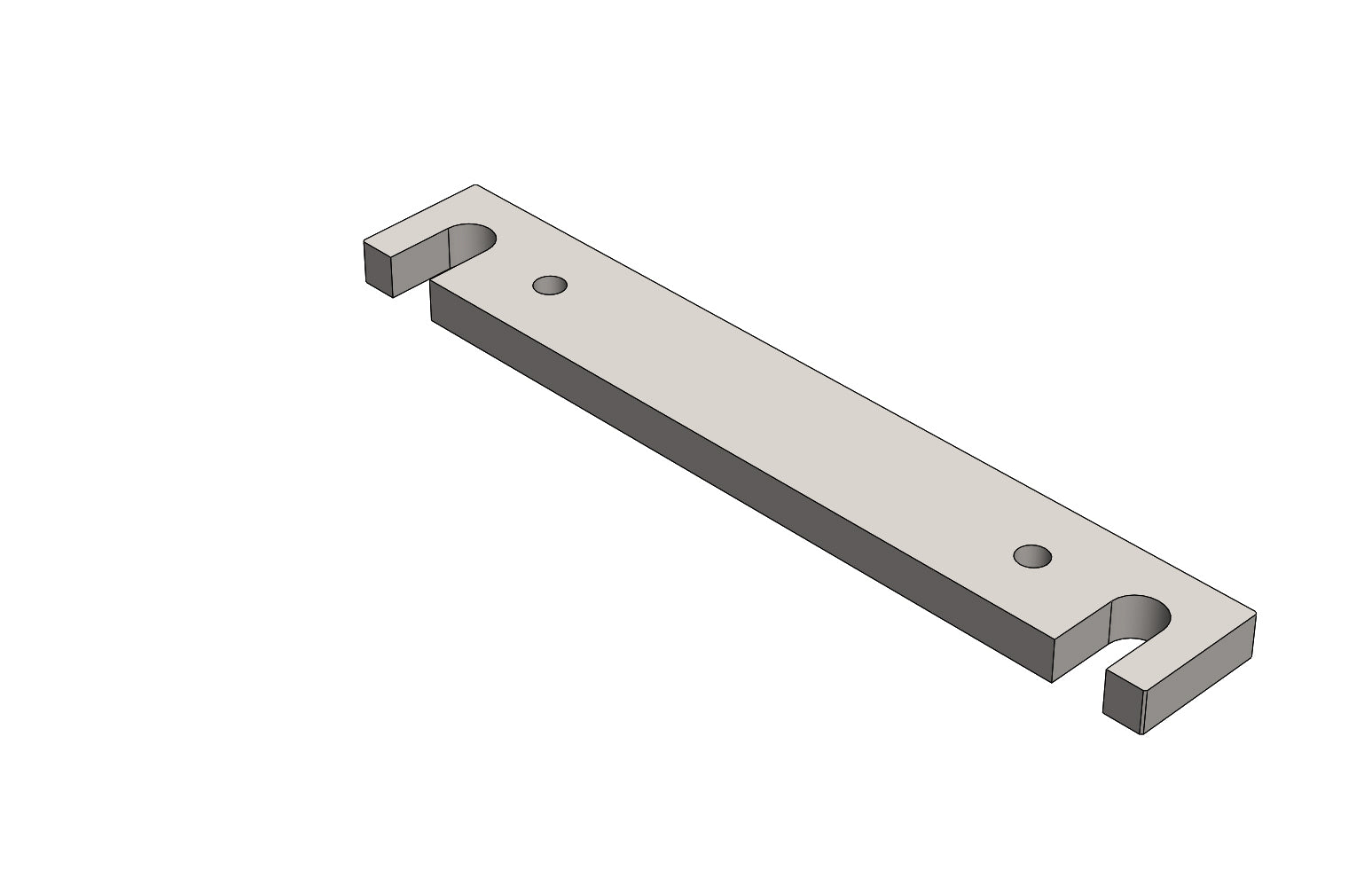 TC6271663A MOUNTING PLATE - King TC8 Spare Part