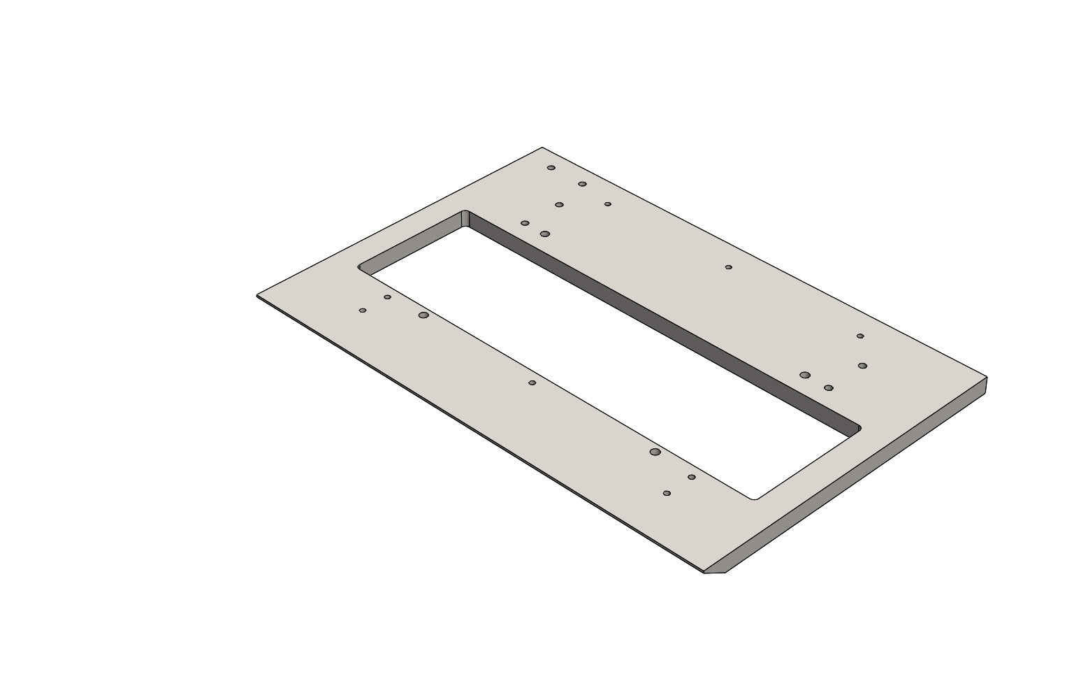 TC6271880A MAIN PLATE - King TC8 Spare Part