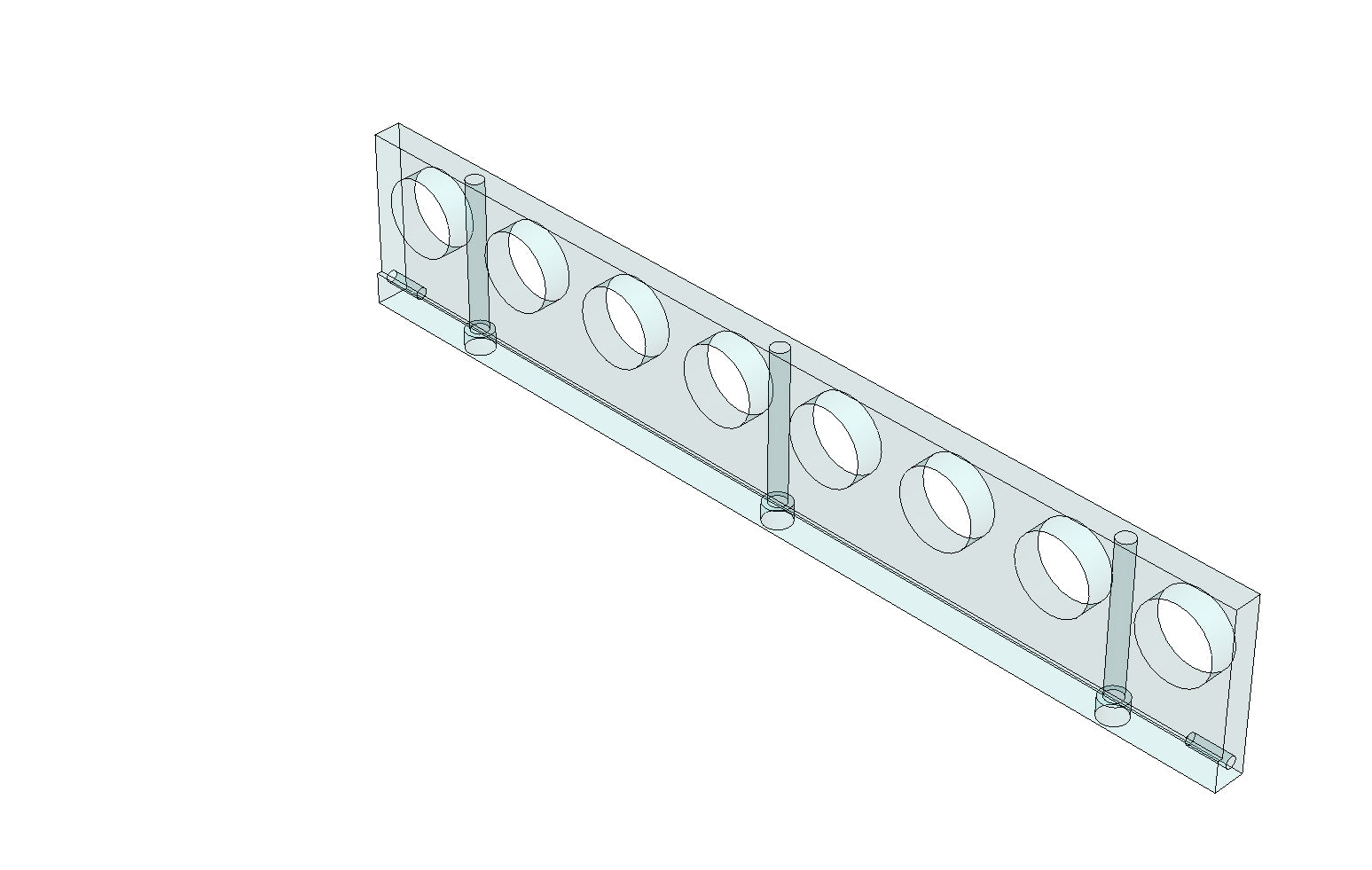 TC6271890A GLASS SUPPORT PLATE - King TC8 Spare Part
