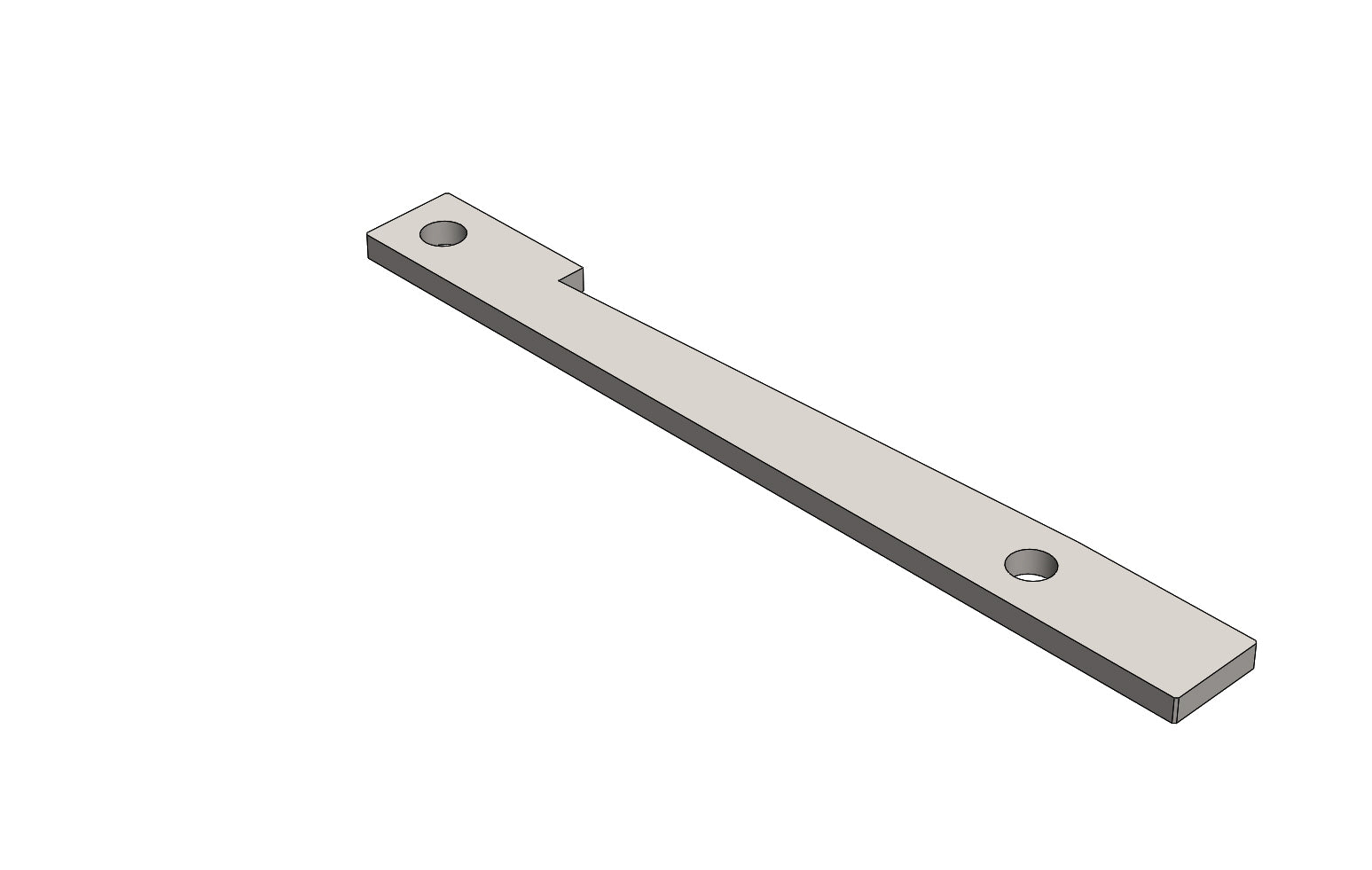 TC6272003A UPPER SUPPORT RAIL - King TC8 Spare Part