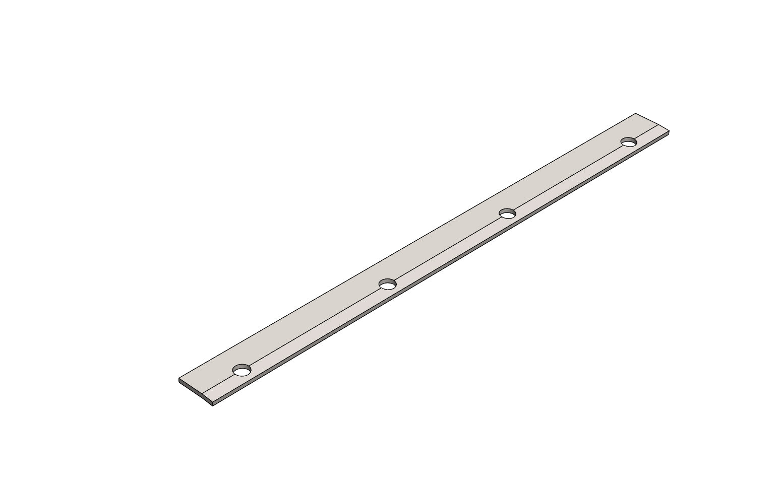 TC6272114A - CLAMP PLATE - King TC8 Spare Part
