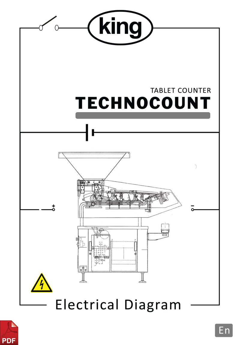 King Technocount Tablet and Capsule Counter Electrical Diagram and Circuit Description