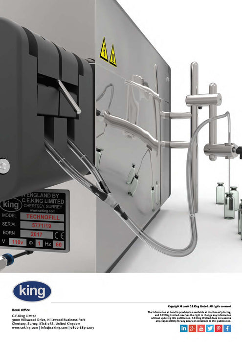 King Technofill Liquid Filling Machine Brochure | Spare Parts for King, Kalish and Swiftpack Packaging Machines