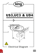 King US3, UC3 and UD4 (Unscrambler, Accumulator and Reservoir) Electrical Diagram and Circuit Description