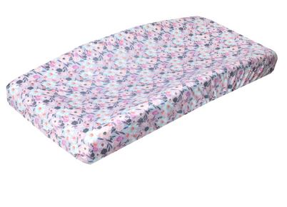 Copper Pearl : Changing Pad Cover Morgan - Elegant Mommy