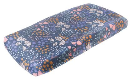 Copper Pearl : Changing Pad Cover Meadow - Elegant Mommy