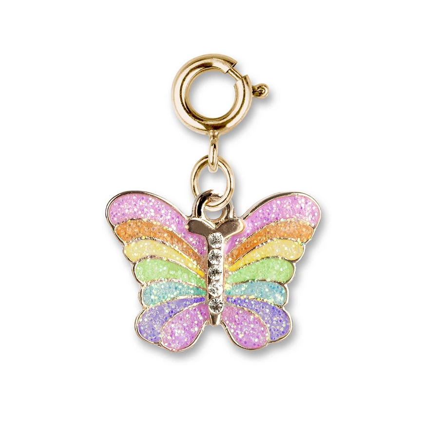 Gold Butterfly Charm - Elegant Mommy