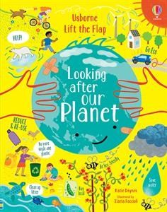 Lift-the-Flap Looking After our Planet Book - Elegant Mommy
