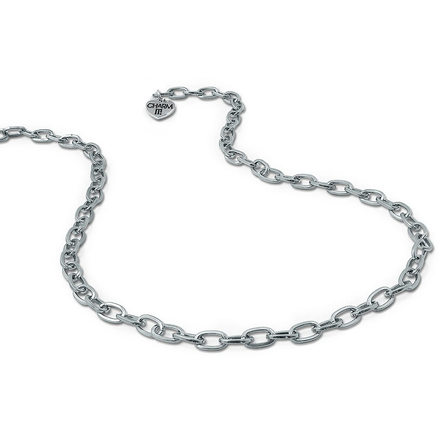 Silver Chain Necklace - Elegant Mommy