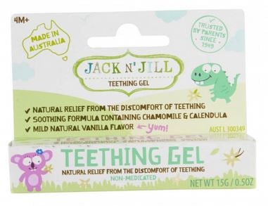 Jack N Jill Teething Gel - Elegant Mommy