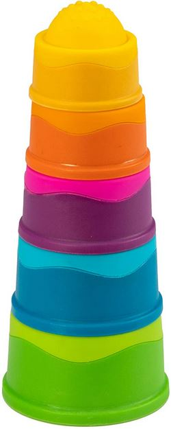 Fat Brain Toys Dimpl Stack - Elegant Mommy