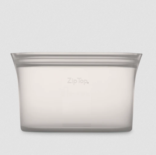 Zip Top Large Dish - Elegant Mommy