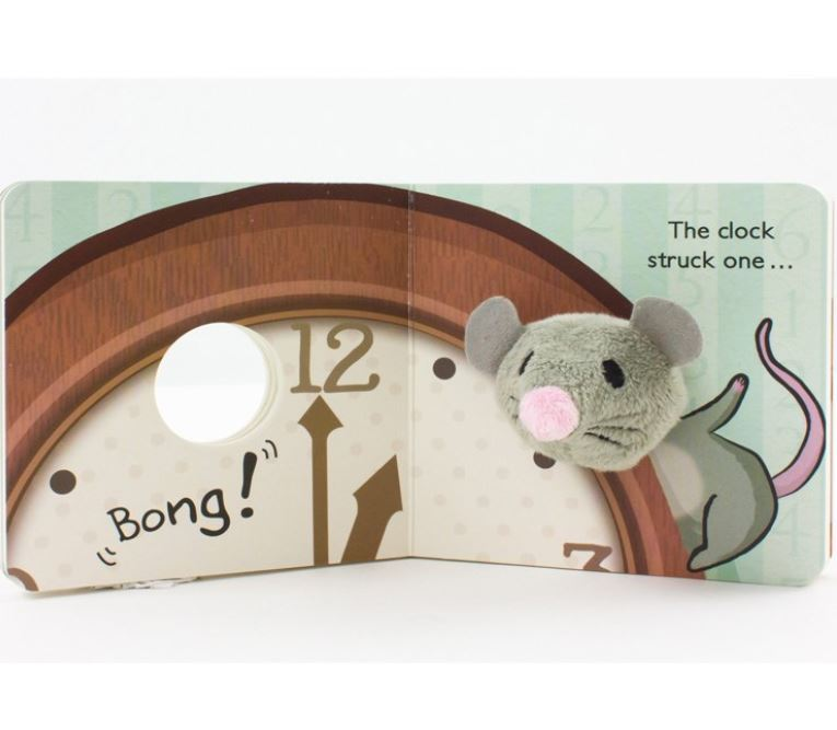 Hickory Dickory Dock Puppet Book - Elegant Mommy
