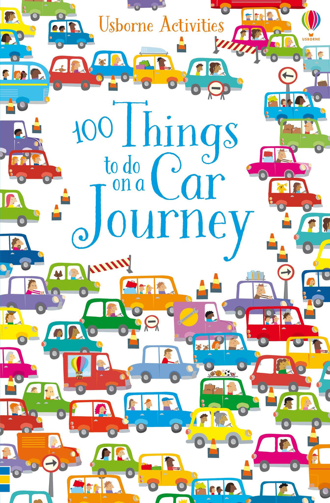 100 Things to Do on a Car Trip- Book - Elegant Mommy